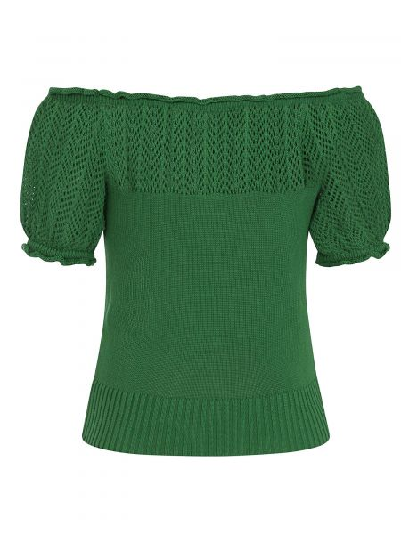 Knitted Top, PAULA Green