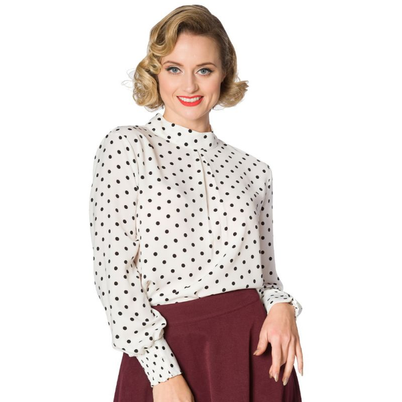 Blouse, SPOTS AHEAD (10256)