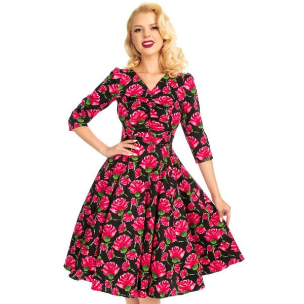 Swing Dress, ENGLISH ROSE (111)