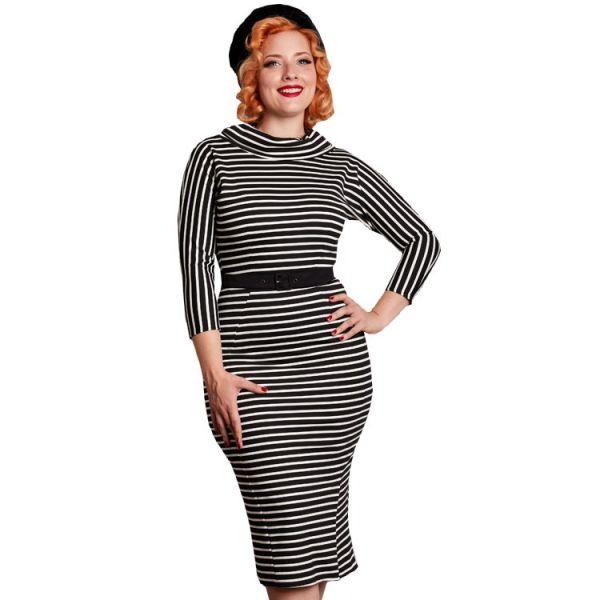 Pencil Dress, Miss Candyfloss Celestia-Lou Stripe (1141str)