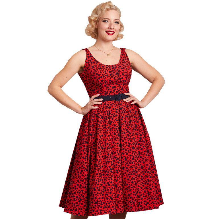 Swing Dress, Miss Candyfloss Flava-Rose (1196flo)