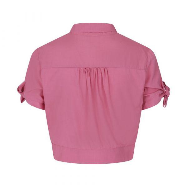 Paita, BOW CROP Pink (14066)