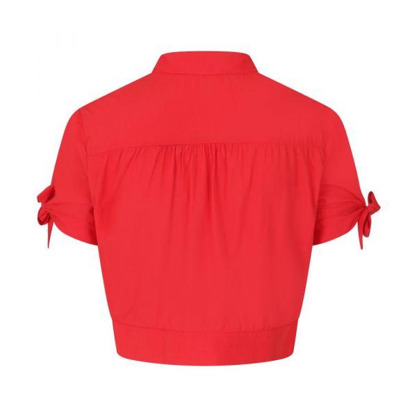 Paita, BOW CROP Red (14066)