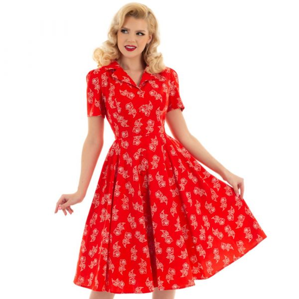 Swing Dress, HR Ruby Rose (146)