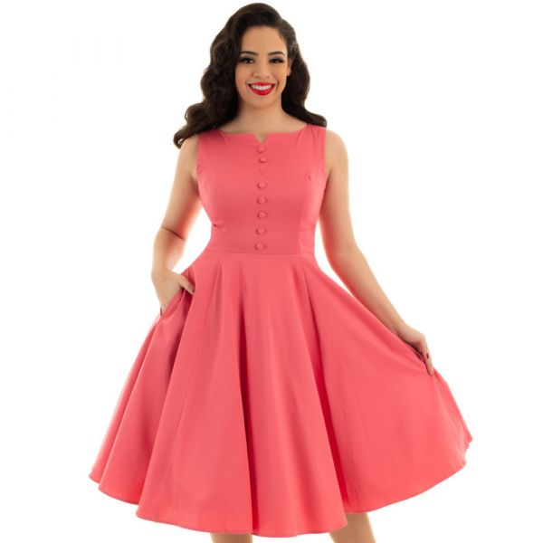 Swing Dress, HR Pink Donna (149)