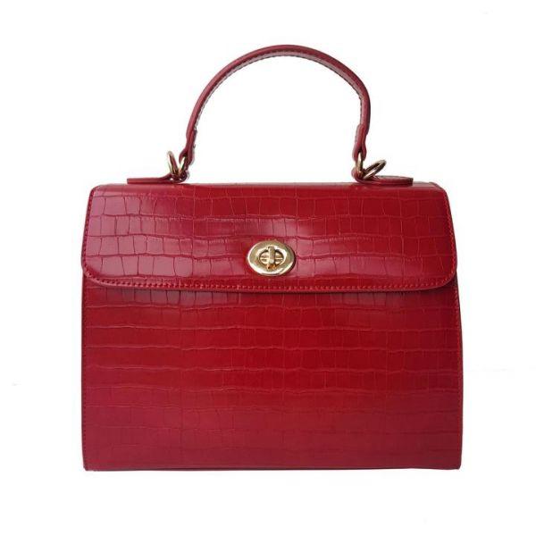 Handbag, CHARLIE STONE Versailles Rouge