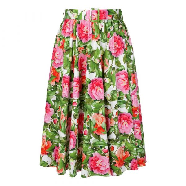 Swing Skirt, HR Francine Floral (161)