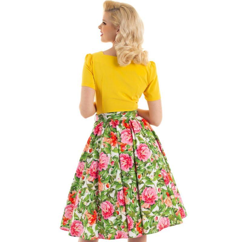 Swing Skirt, HR Francine Floral (161)