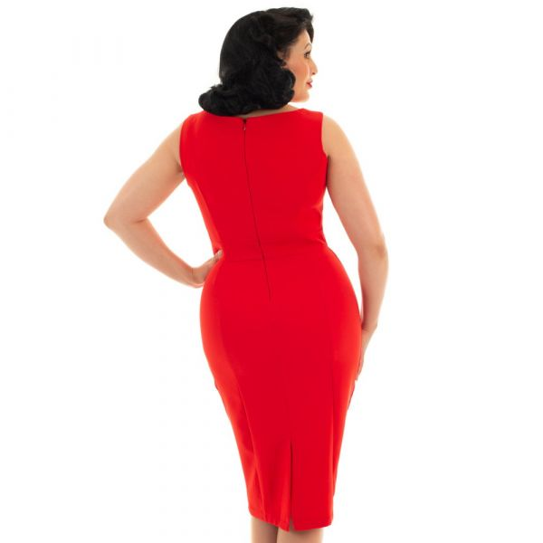 Pencil Dress, HR Aretha Wiggle (163)