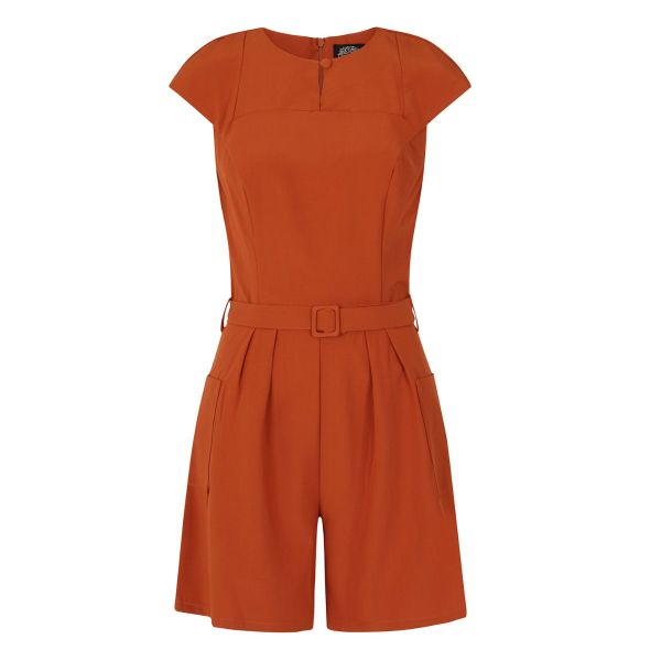 Playsuit, BETTY Brown (172)