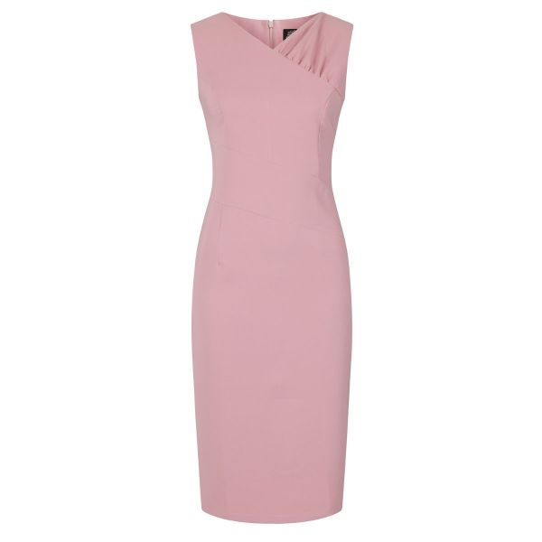 Pencil Dress, HR Willow Pink (183)