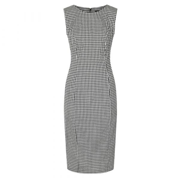 Pencil Dress, HR Gabrielle Gingham (184)