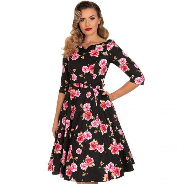 Swing Dress, HR Ava Floral (212)
