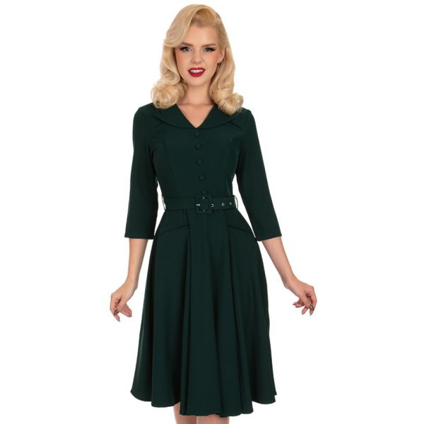 Swing Dress, HR Gabriella Emerald (224)