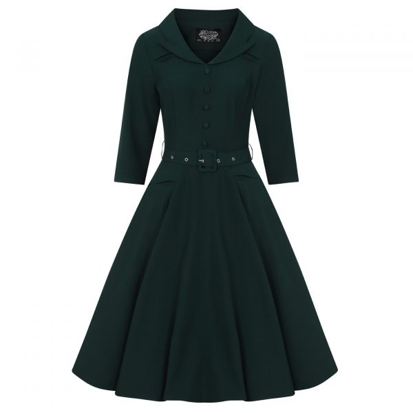 Swing Dress, HR Gabriella Emerald (224)