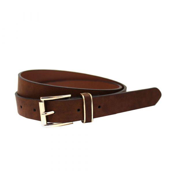 Belt, ELEGANCE Brown (22722)