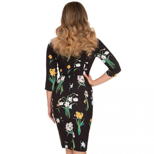 Pencil Dress, HR Celeste Floral (233)