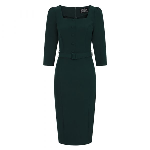 Pencil Dress, HR Verde (234)