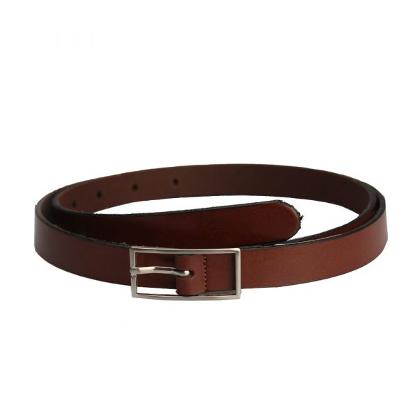 Leather Belt, GOOD OLD TIMES Brown (24037)