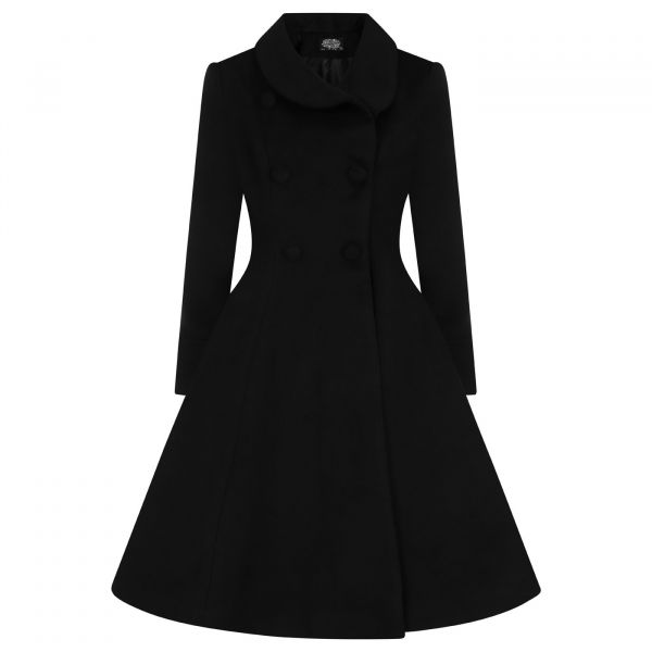 Coat, GRACE Swing Black (242)