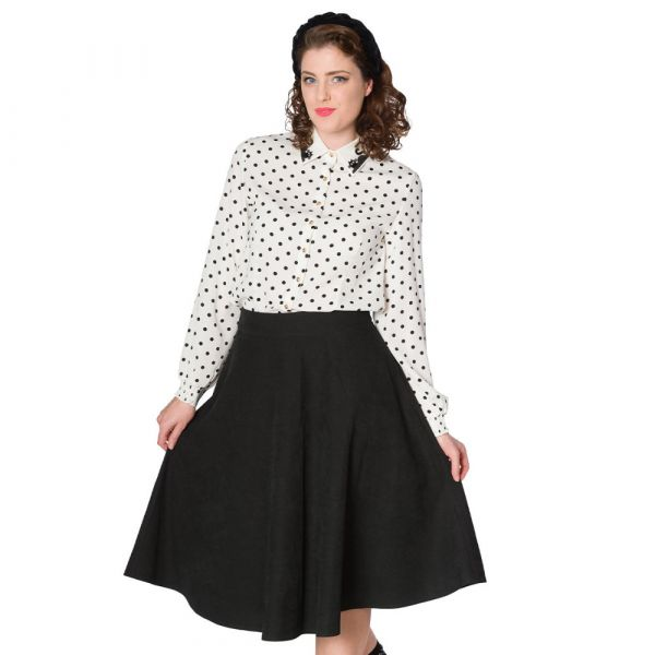 Swing Skirt, LADY Black (25115)