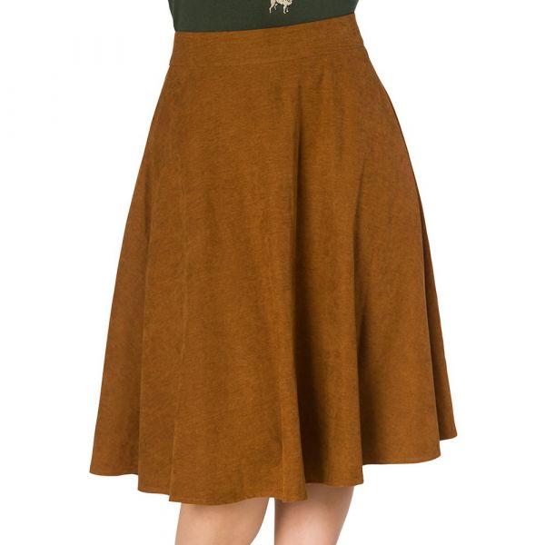 Swing Skirt, LADY Brown (25115)
