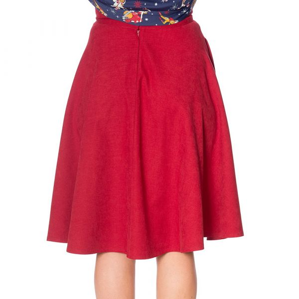Swing Skirt, LADY Red (25115)