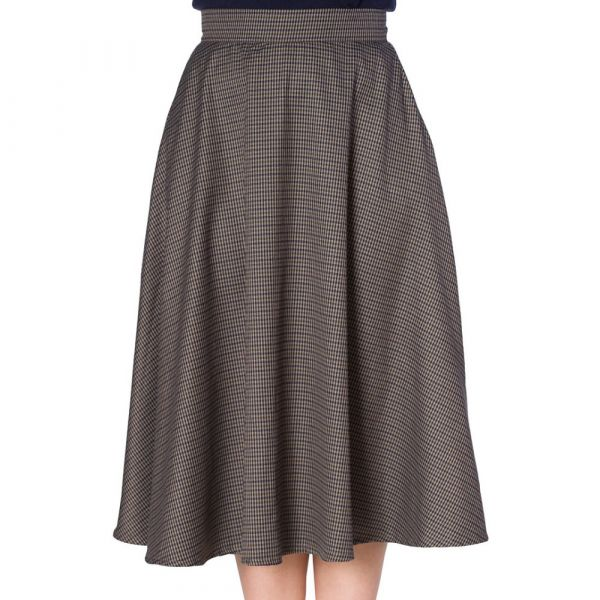 Swing Skirt, CHECK MATE (25243)