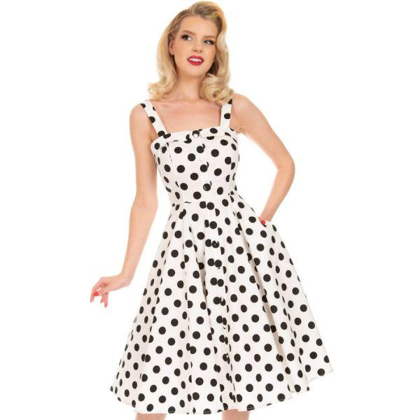 Swing Dress, HR Priscila Polkadot (259)