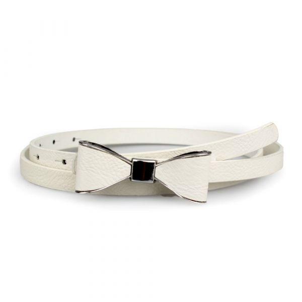 Belt, CUTE BOW White (26019)