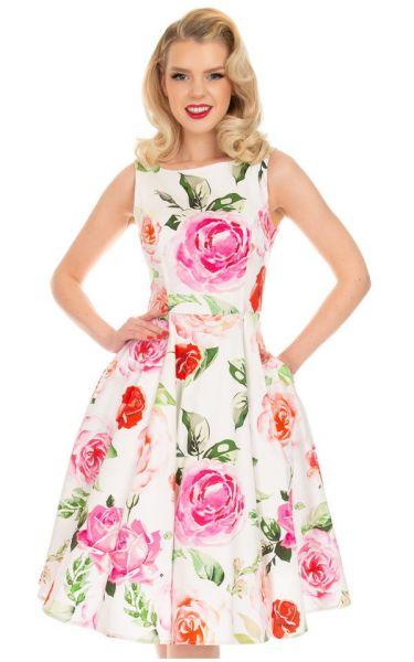 Swing Dress, HR Scarlett Floral (262)
