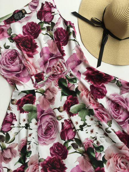 Swing Dress, HR Alice Floral (285)