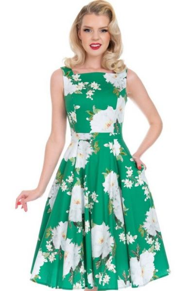 Swing Dress, HR Gina Floral (300)