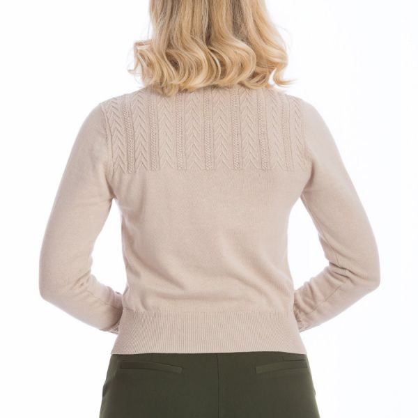 Cardigan, GOSH GIRL Beige (21059)