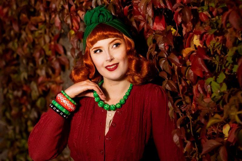 RUBYLEA Turbaanipipo, JULIA Green