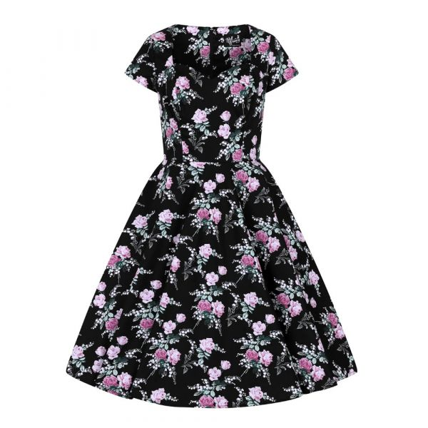 Swing Dress, LILY ROSE 50s (40026)