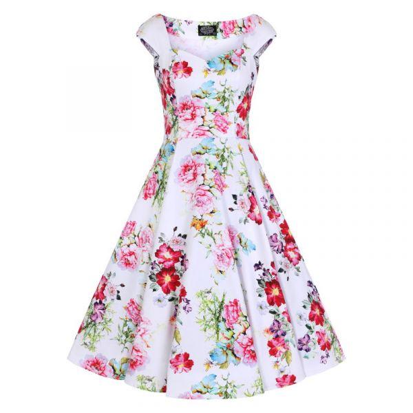 Swing Dress, HR Rose Paradise (4305)