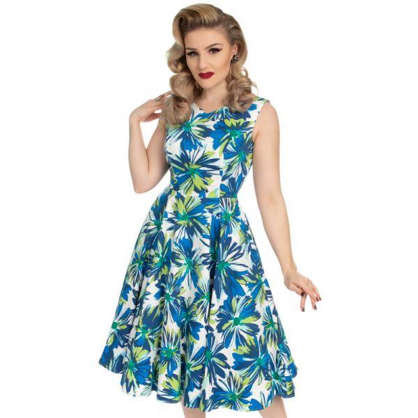 Swing Dress, HR Aster Floret (4307)