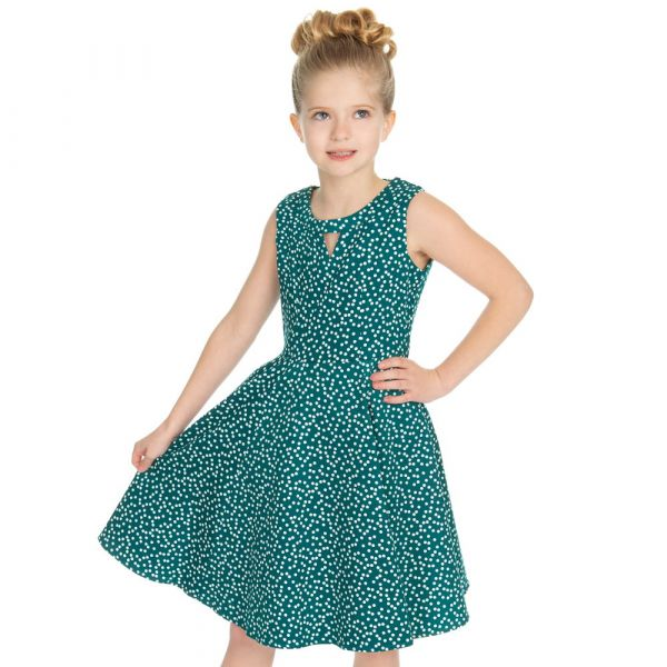 Kids Swing Dress, La Rosa Dotty (4320)