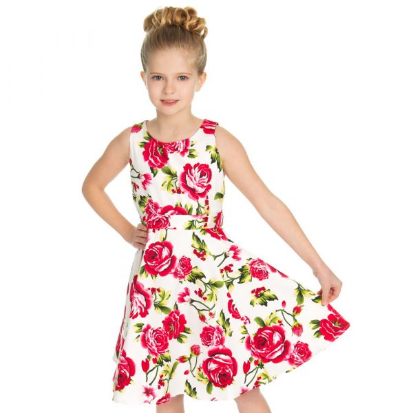 Kids Swing Dress, Sweet Rose (4321)