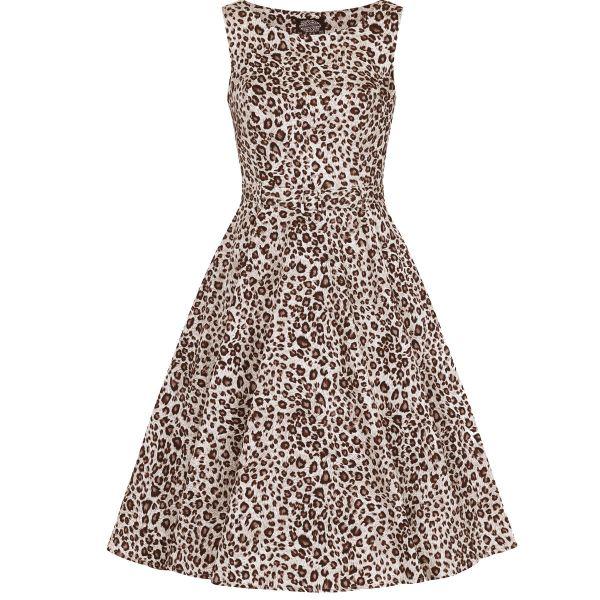 Swing Dress, HR Zabrina Leopard (4429)