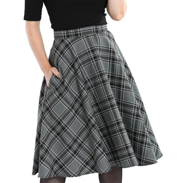 Swing Skirt, ISLAY Grey (50039)