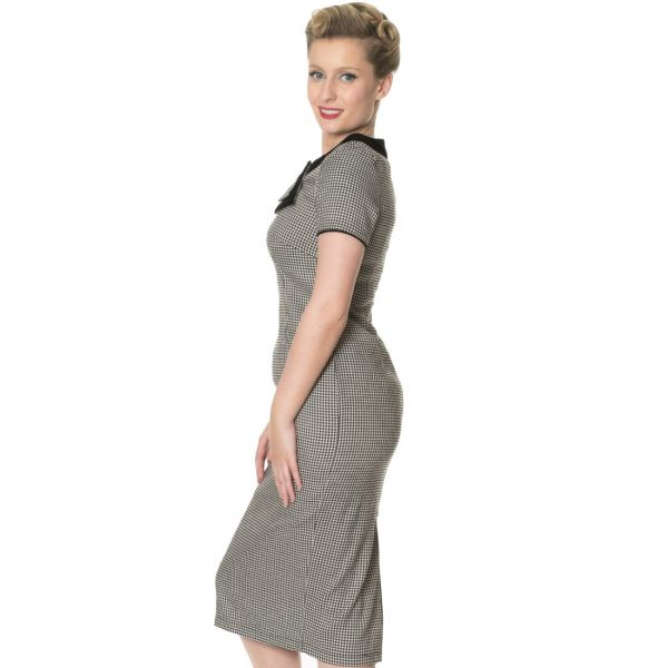 Pencil Dress, Houndstooth (5143)
