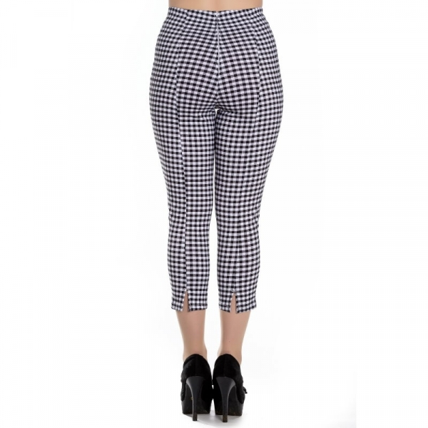 Caprit, JUDY Gingham Black (5432)