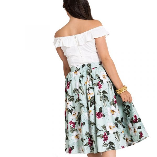 Swing Skirt, TAHITI Green (5433)
