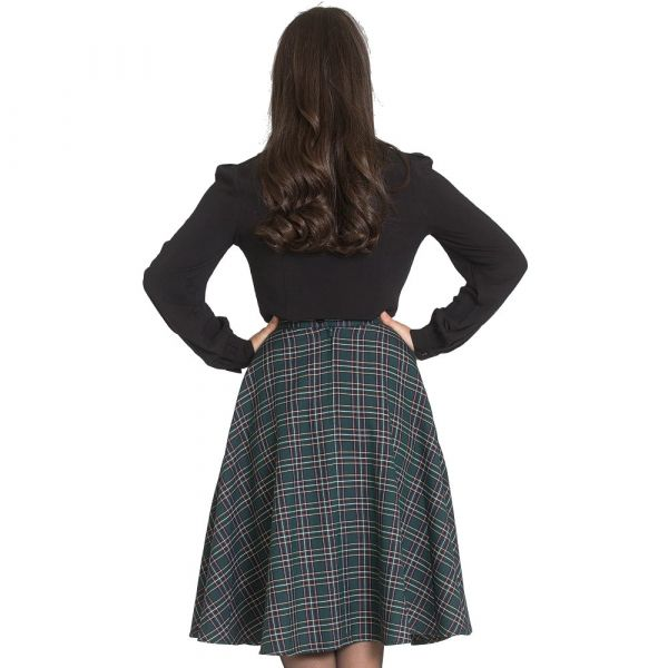 Swing Skirt, PEEBLES 50'S Green (5451)