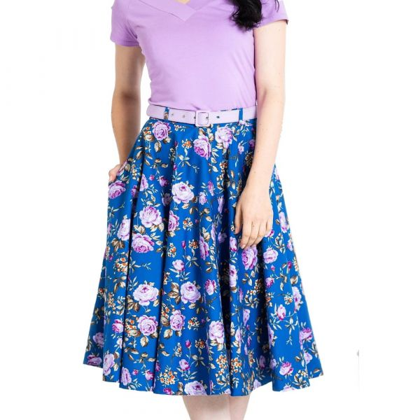 Swing Skirt, VIOLETTA Plus (5522)