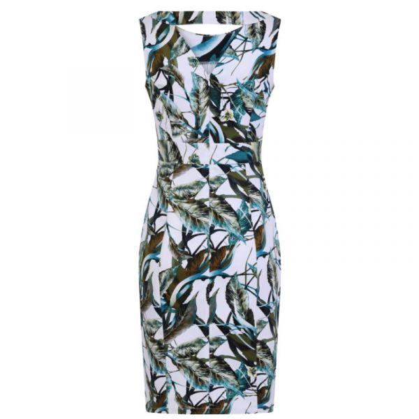Pencil Dress, HR Felicity Floral (5686)