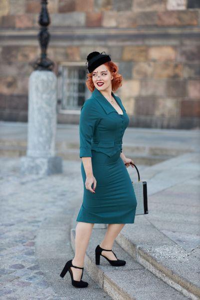Pencil Dress, Miss Candyfloss Davina-Kat (1156)