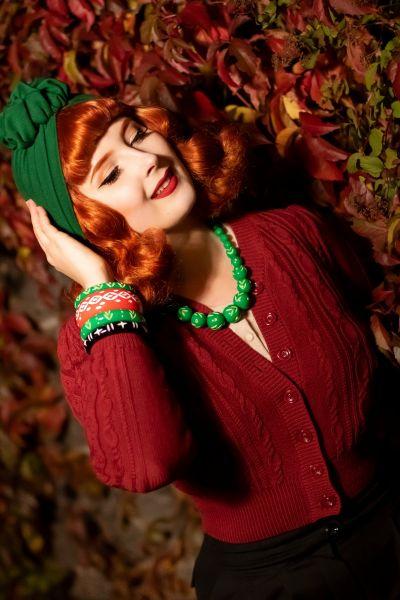 RUBYLEA Turban Beanie, JULIA Green